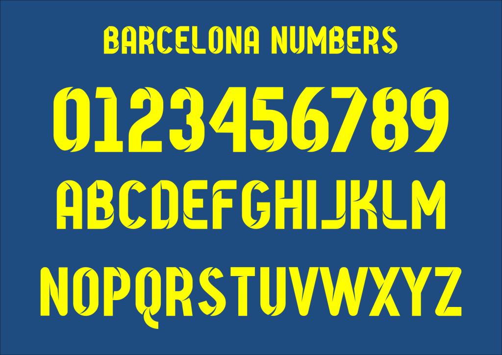 Barcelona Numbers