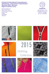 PomPrint Clothing Catalogue 2015 – Part 2