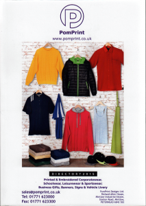 PomPrint Clothing Catalogue 2015 – Part 1