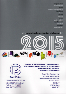 PomPrint Designs Business Gift Catalogue 2015